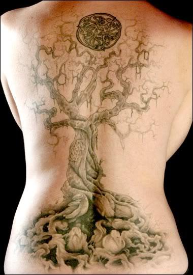 Tatouage Arbre De Vie. bien un arbre de vie comme